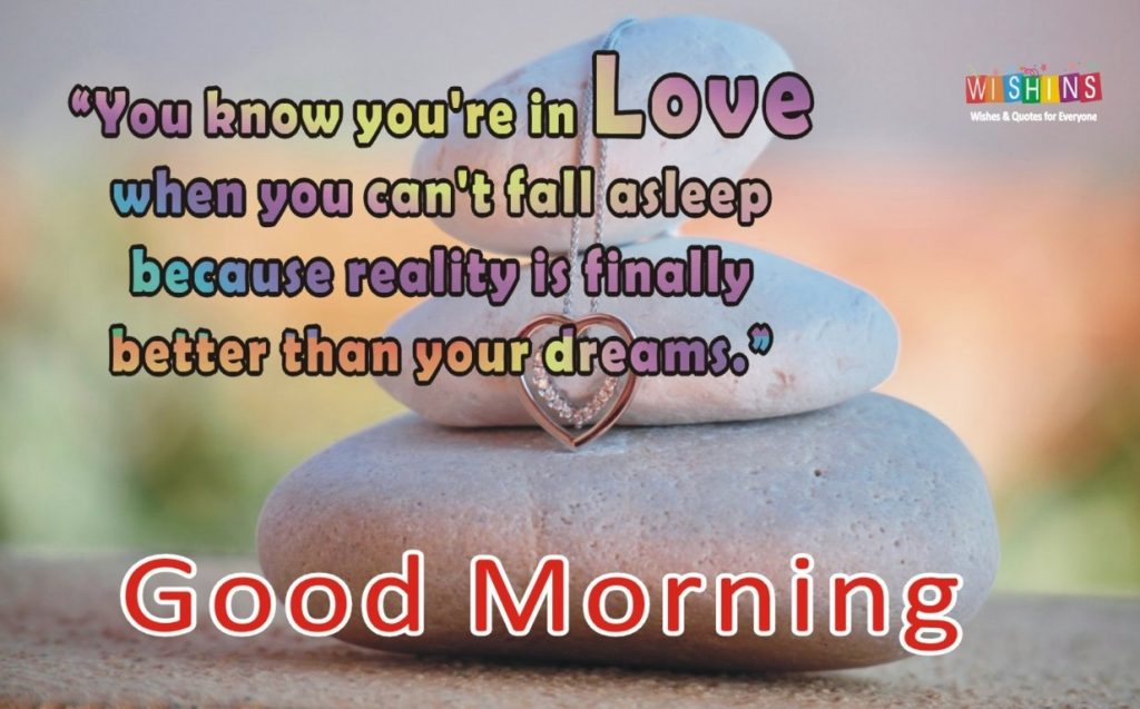 good morning quotes love and sayings