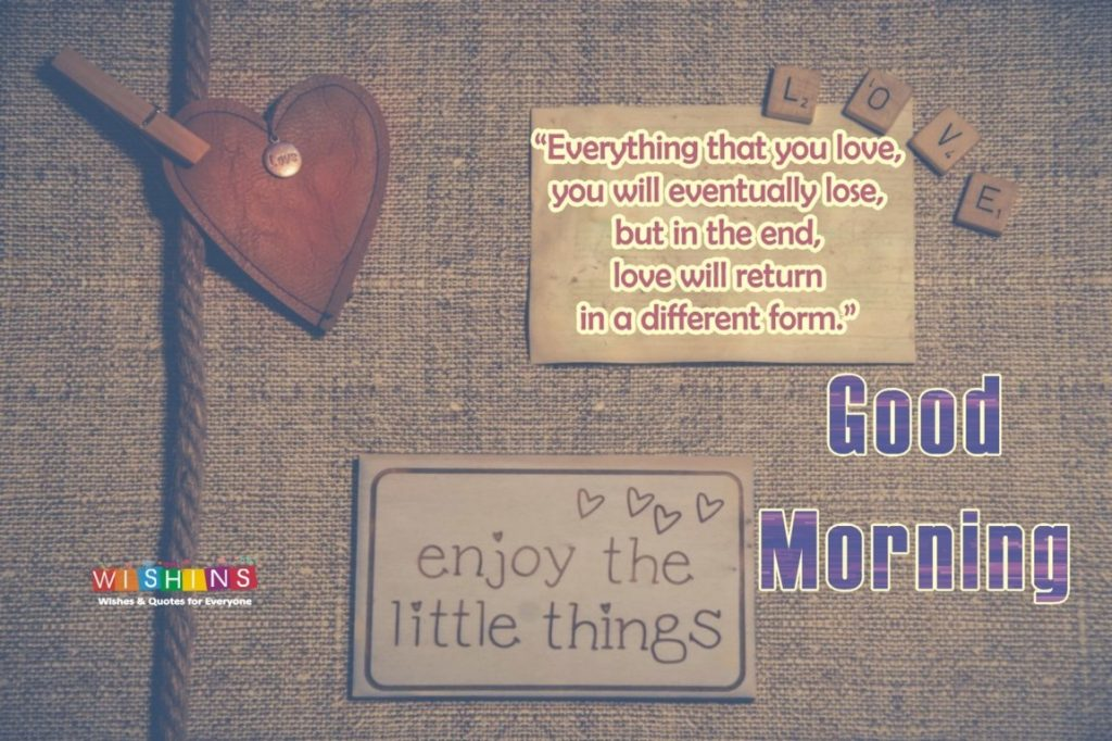 good morning quotes for loved ones